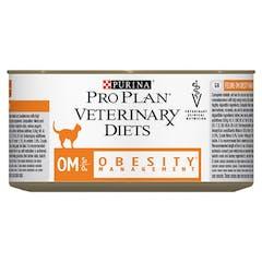 Purina Proplan Veterinary Diets Obesity Management - Kattenvoer Blik - 24x195g