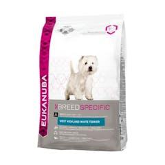 Eukanuba West Highland White Terrier – Hondenvoer – 2,5kg