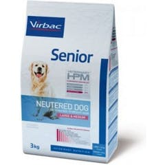Virbac Veterinary Hpm Senior Neutered Large & Medium pour chien 12kg