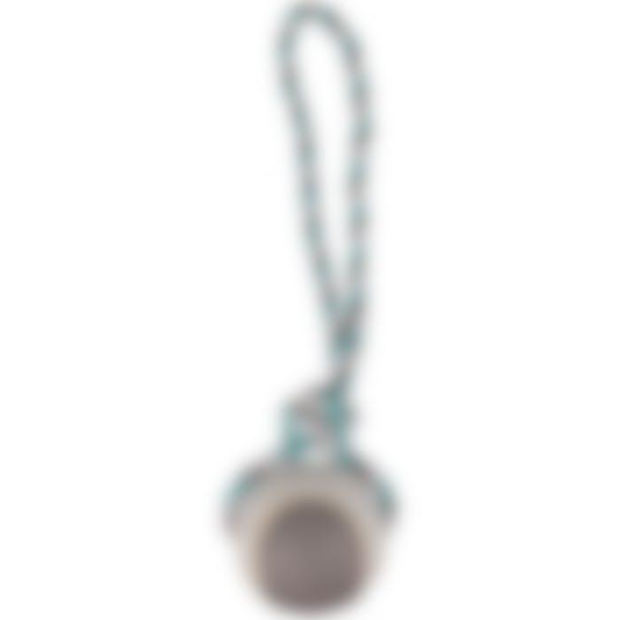 Jchien Coton Jim Corde De Tirage Tennis Menthe/blanc/gris L Dia. 9,5cm/50cm