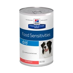Hill's Prescription Diet D/D Saumon & Riz pour chien 12x370g