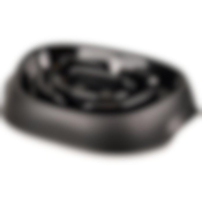 Eetpot Exqi Slowfeeder Zwart 950ml