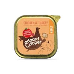 Edgard&Cooper Hondenvoer in kuipje met Kip – 11x 150g
