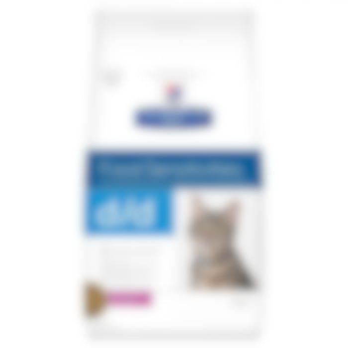 Hill's Prescription Diet D/D croquettes pour chat au canard et petit pois