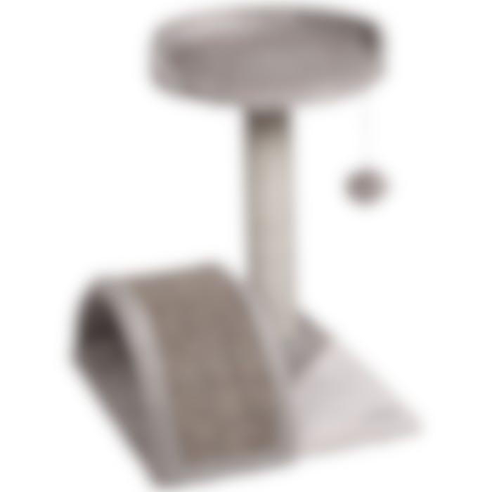 Arbre À Gratter Charlton Gris 40x41x45cm