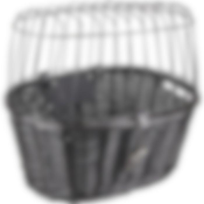 Panier Pour Velo Guidon Clic Canna Noir 46,5x37,5x40,5cm