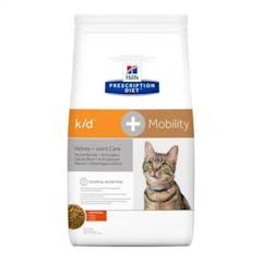 Hill's Prescription Diet K/D + Mobility croquettes pour chat au poulet