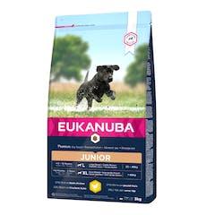 Eukanuba Junior Large Breeds - Hondenvoer Met Kip - 15kg