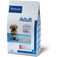 Virbac Veterinary Hpm Adult Neutered Small & Toy pour chien 7kg