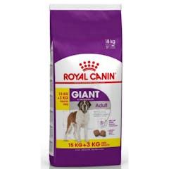 Royal Canin Giant Adult Pour Chien 15kg + 3kg Gratuit