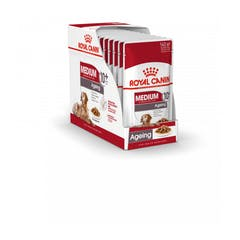 Royal Canin Medium Ageing 10+ Pour Chien 10x 140g