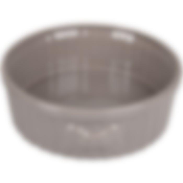 Gamelle Chien Mabel Ceramique Taupe 20,5cm 1510ml