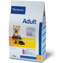 Virbac Veterinary Hpm Adult Small & Toy pour chien 3kg