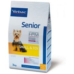 Virbac Veterinary Hpm Senior Small & Toy pour chien 7kg