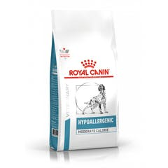 Royal Canin hypoallergenic moderate calorie chien