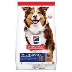 Hill's Science Plan Mature Adult Medium Breed Agneau & riz pour chien 14kg