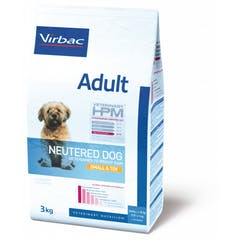 Virbac Veterinary HPM Adult Neutered Small et Toy