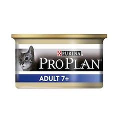 Pro Plan adult 7+ chat 24 boites de 85g