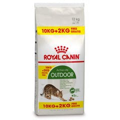 Royal Canin Outdoor Pour Chat 10kg + 2kg Gratuit