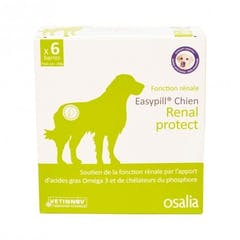 Easypill chien Renal Protect 6 Barres de 28grs