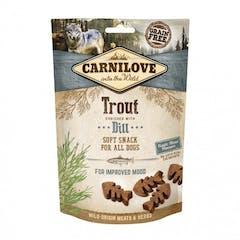 CARNILOVE Soft Snack à la Truite et à l'Aneth 200g