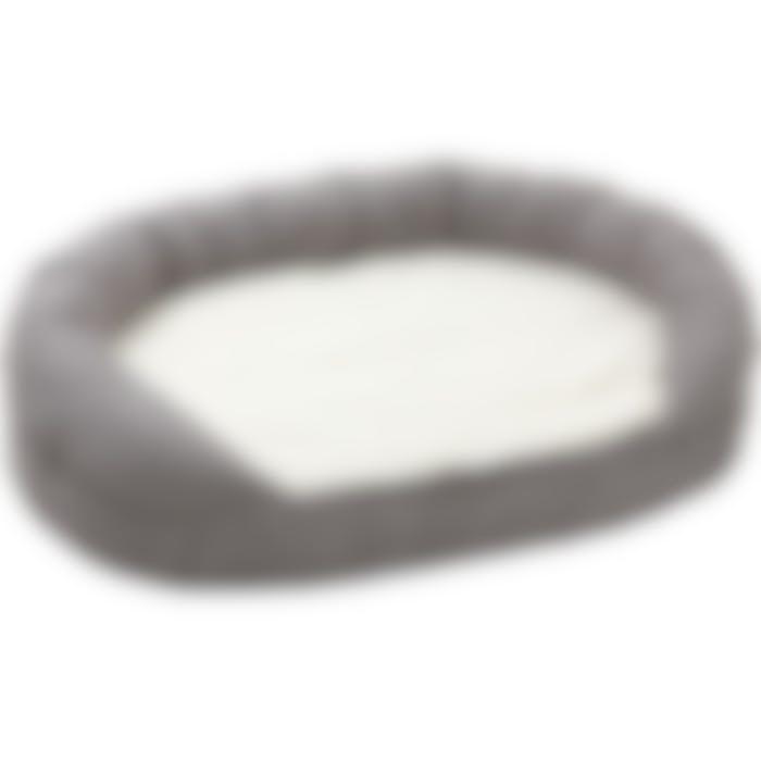 Lit Ortho Ovale Gris 100x65x24