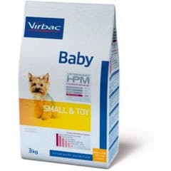 Virbac Veterinary Hpm Baby Small & Toy pour chien 3kg