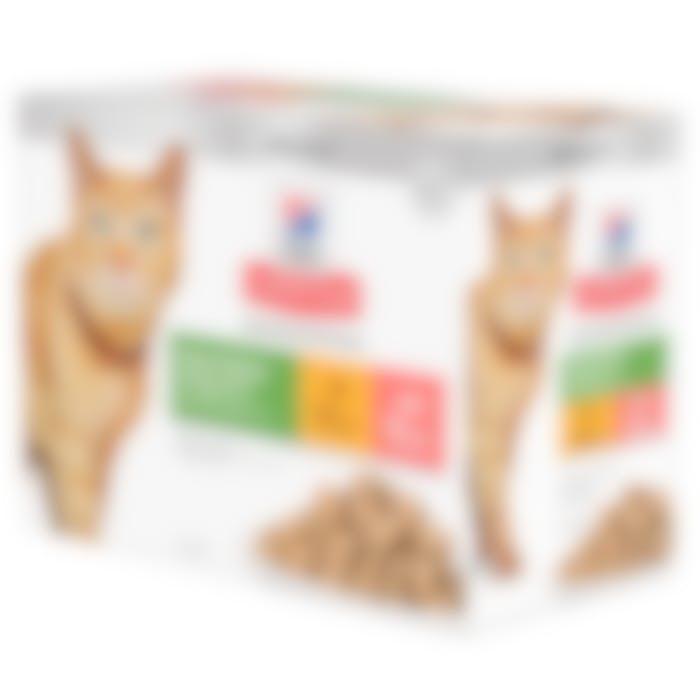 Hill's Senior Vitality 7+  - Kattenvoer met kip - 12x 85g