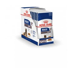 Royal Canin Maxi Ageing 8+ Pour Chien 10x 140g