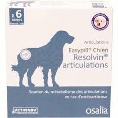 EASYPILL CHIEN RESOLVIN ARTICULATIONS - 6 BARRES DE 28 GRS