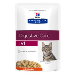Hill's Prescription Diet I/D pour chat 12x85g
