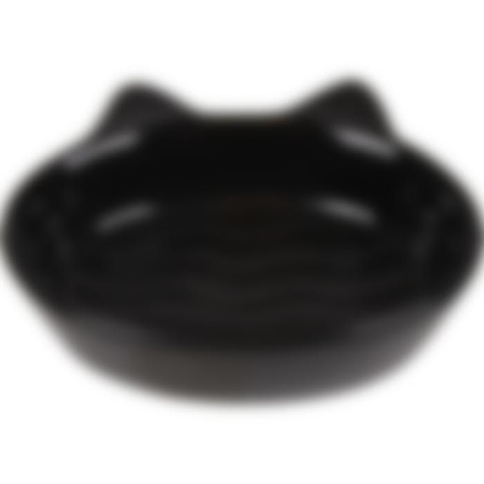 Eetpot Kat Gizmo Keramisch Zwart 170ml 13cm