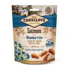 CARNILOVE Crunchy Snack au Saumon et Groseille 200g