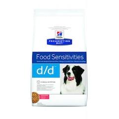 Hill's Prescription Diet D/D – Hondenvoer met Zalm en rijst – 5kg