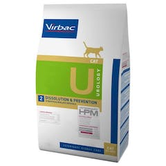 Virbac HPM Urology Dissolution & Prevention U2 pour chat 7kg