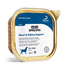 Specific Ckw Heart & Kidney Support pour chien 6x 300g