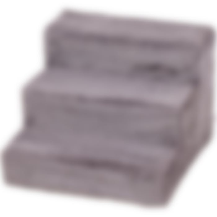 Hondentrap Easy Step Grijs 41x43x30 Cm