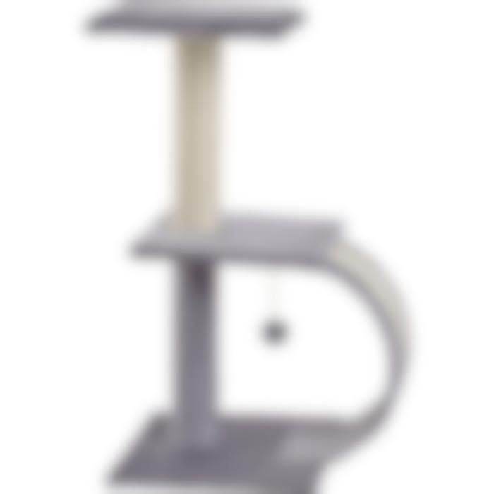 Grattoir La Sella Gris 38x38x75cm