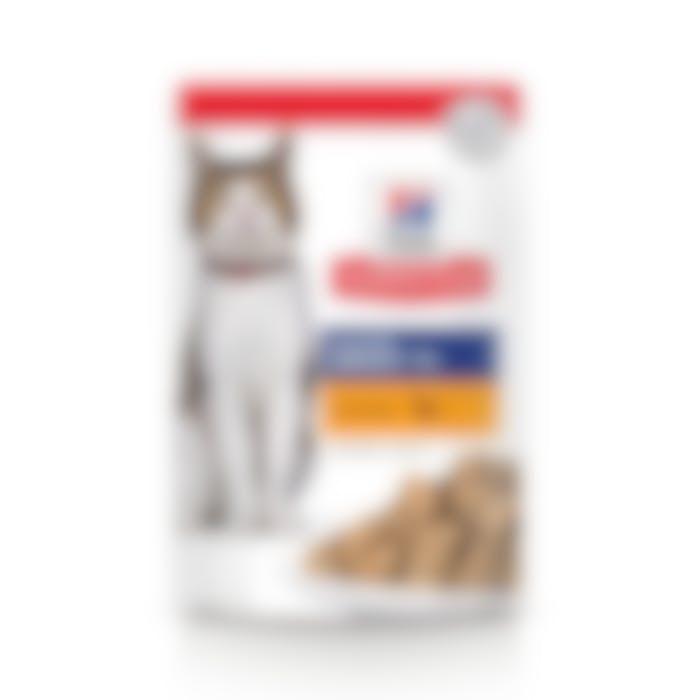 Hill's Science Plan Mature Adult sachet repas pour chat sénior poulet 85gr x 12