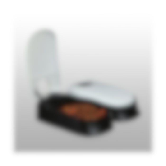 Voederautomaat Tx2 2 Maaltijden 2x300Ml/27x7x24cm Zwart/Antraciet