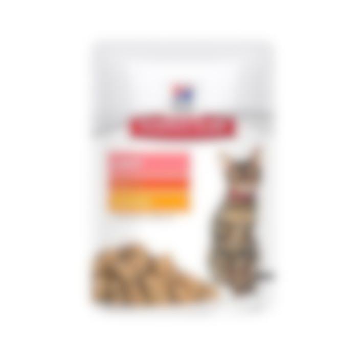 Hill's Science Plan Adult light sachet repas pour chat poulet 85gr x 12