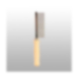 Peigne avec manche en bois