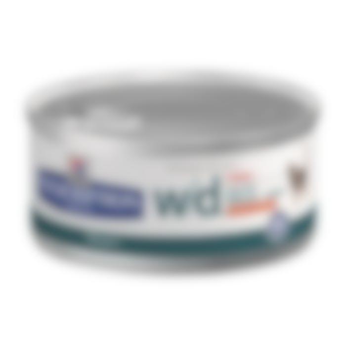 Hill's Prescripiton Diet W/D Feline Minced 24X156gr