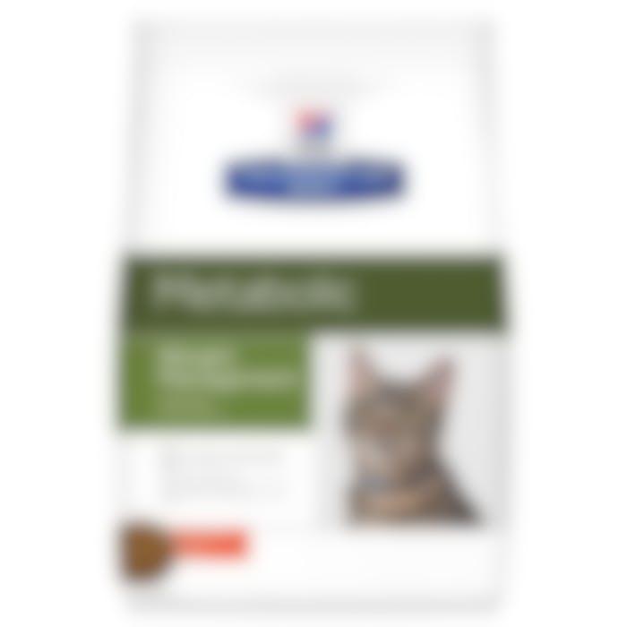 Hill's Prescription Diet Metabolic croquettes pour chat au poulet