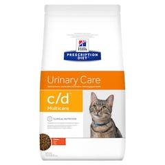 Hill's Prescription Diet C/D Multicare croquettes pour chat au poulet