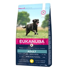 Eukanuba Adult Large Breed - Hondenvoer Met Kip - 15kg