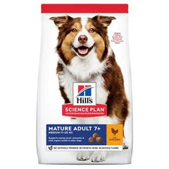 Hill's Science Plan Mature Adult Hondenvoer met Kip 14kg