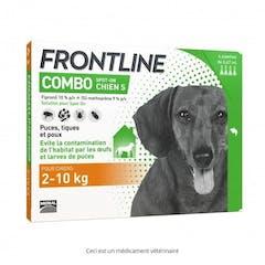Frontline Combo S chien de 2-10 kg