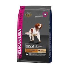 Eukanuba Adult Small/Medium Breed pour chien Agneau et Riz 2,5kg