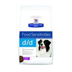 Hill's Prescription Diet D/D Canard & Riz pour chien 5kg
